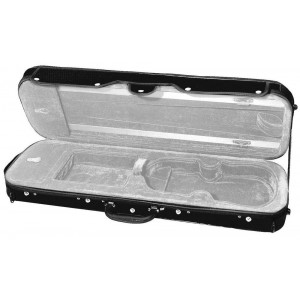 Violin case, internal colour light grey