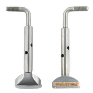 Titanium chinrest screws