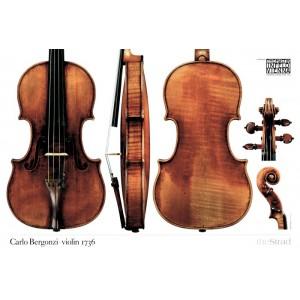 Poster Bergonzi Carlo violin, 1736