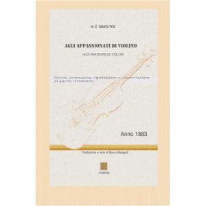 AGLI APPASSIONATI DI VIOLINO - N.E. Simoutre