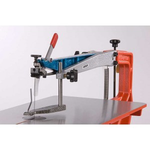 HEGNER scrollsaw Multicut hold-down arm and guard
