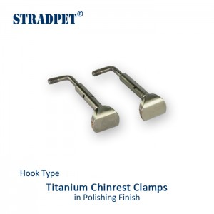 Stradpet Hook Type Titanium Chinrest screws