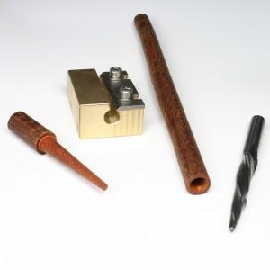 wood sharpener and router bit for nipple restoration