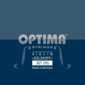 Optima Goldkopf, violin 205 set