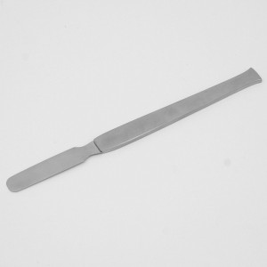 Spatula blade flexible, handle 18/10 stainless steel