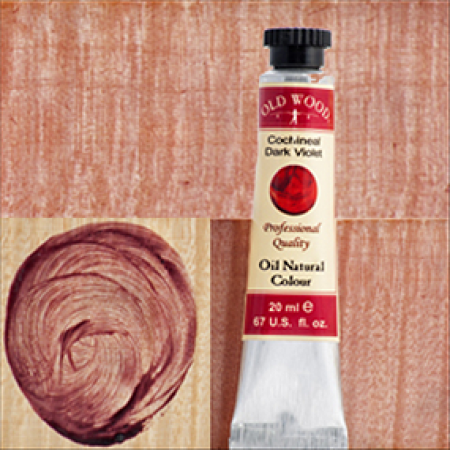 Old Wood 1700 - Oil Nat. Col.s: Cochineal Dark Violet 8 ml