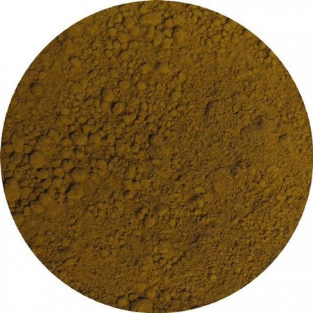 Dry Pigment - Raw Sienna, washed, Bagnoli, Mt Amiata, 1950s production 40ml