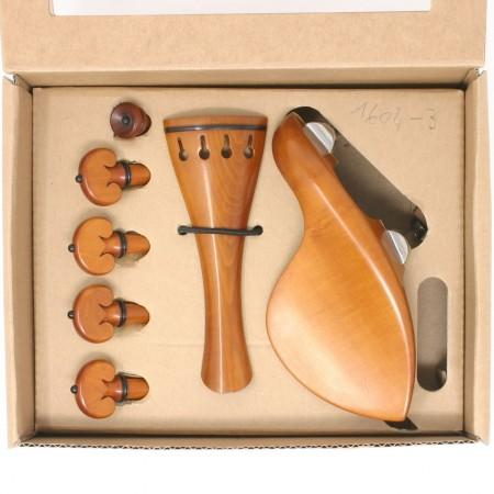 Set Superior violino Cuore bosso/ebano, titanio