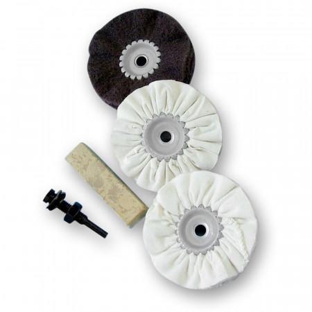 Kit per lucidatura del legno