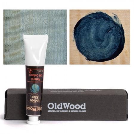 Old Wood 1700 - Oil Nat. Col.s: Indigo - Blue 8 ml