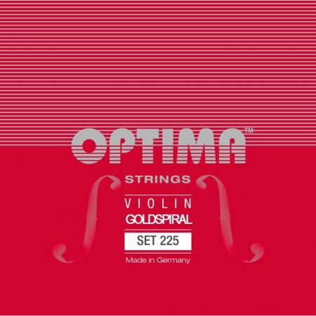 Optima Goldspiral, violin 225 set