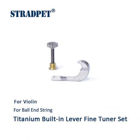 tiracantino incorporabile in titanio, violino