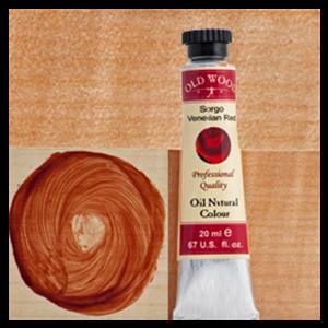 Old Wood 1700 - Oil Nat. Col.s: Sorgo - Venetian Red 20 ml