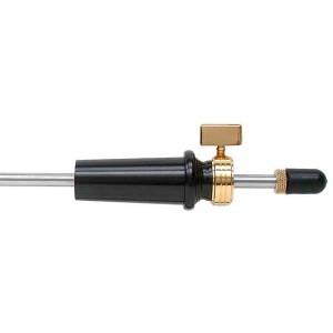 puntale cello ULSA Gold, ebano, asta vuota 52cm, Ø 27mm