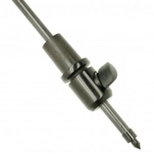 puntale cello ebano asta carbonio 10mm, Ø 25 mm
