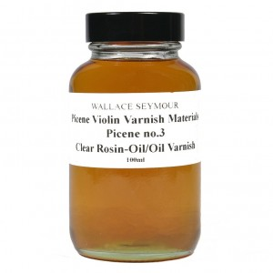 Picene No 3 Clear Rosin-oil/Oil Varnish 100ml