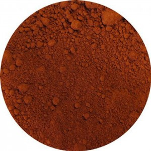 Dry Pigment - Burnt Sienna, washed, Bagnoli, Mt Amiata, 1950s production 40ml