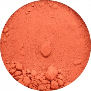 Pigmento in polvere - Translucent Orange-Red Oxide PR101 40ml