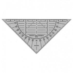goniometro-triangolo millimetrato flessibile Aristo