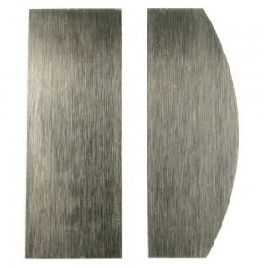 Rasiere modellate in acciaio giapponese, 2 pezzi