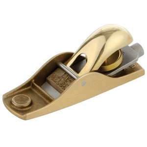Lie-Nielsen No. 102 Low Angle Block Plane - Bronze