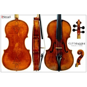 Poster Maggini G. P. violin, c.1630