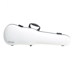 GEWA Astuccio sagomato per violino Air 1.7 bianco lucido