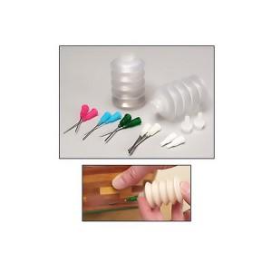 bottiglia a fisarmonica da 30ml con aghi