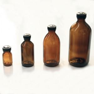 bottigliette vetro marrone