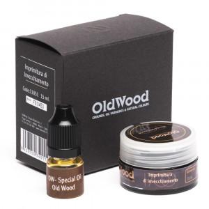 Old Wood 1700 - Imprimitura di Invecchiamento 15 cc