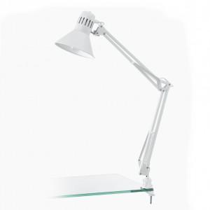 Lampada da tavolo 73cm 1x40W E27 bianca