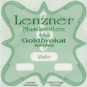 Lenzner Goldbrokat E Steel 0,26, loop