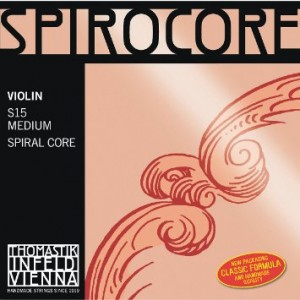 Thomastik Spirocore violin set S15, medium