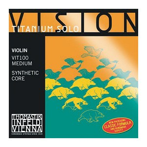 Thomastik Vision Titanium Solo violino VIT100 medium muta
