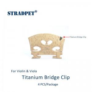 protezione tacche ponticello vo/vla in titanio gun gray, set 4 pezzi