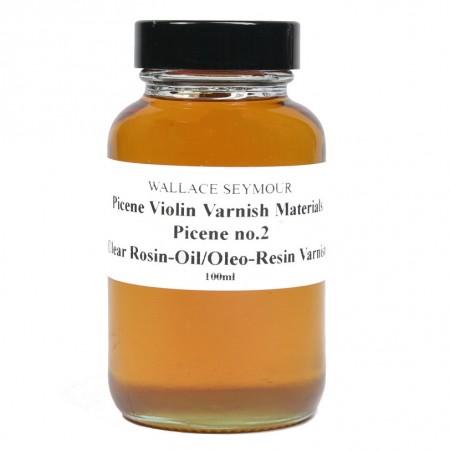 Picene no.2 Clear Rosin-Oil/Oil/Oleo-Resin Varnish 100ml
