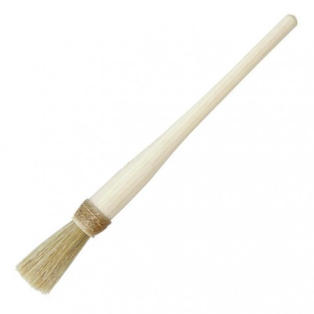 Glue brush, string-wrapped, head diameter 10 mm