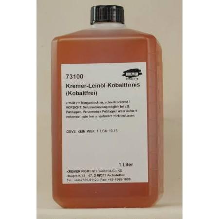 Kremer- Linseed Oil Varnish 1 lt.