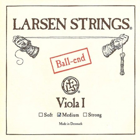 Larsen viola A medium ball-end