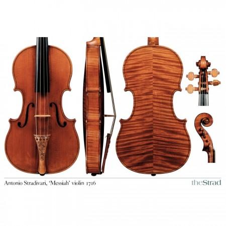 "Poster Stradivari Antonio violin, ""Messiah"" 1716"