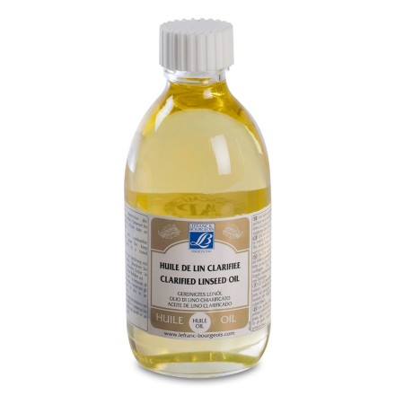 Lefranc & Bourgeois - Clarified Linseed Oil 250 mL
