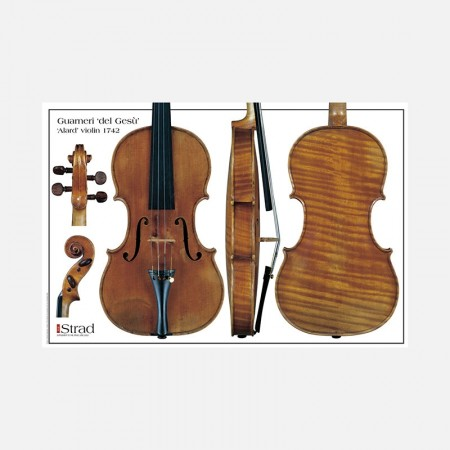 "Poster Guarneri del Gesù violin, ""Alard"" 1742"