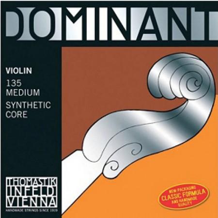 Thomastik Dominant set violin standard 135B with blank E-string