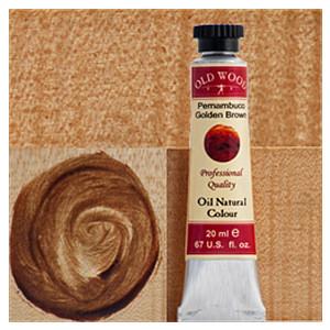 Old Wood 1700 - Oil Nat. Col.s: Pernambuco Golden Brown 20 ml