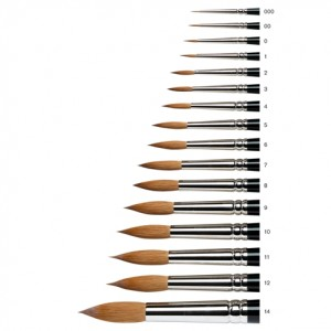Winsor & Newton Series 7, Kolinsky Sable Brushes
