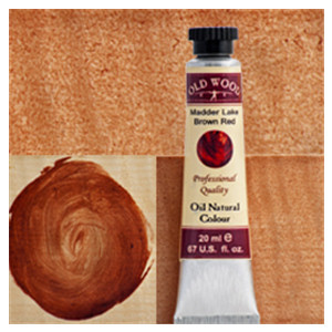 Old Wood 1700 - Oil Nat. Col.s: Madder Lake Brown Red 20 ml