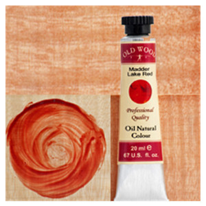 Old Wood 1700 - Oil Nat. Col.s: Madder Lake Red 20 ml