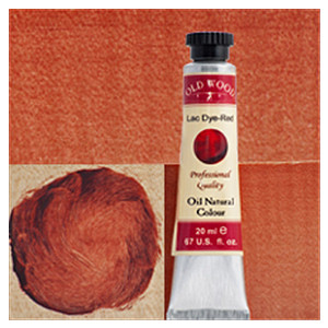 Old Wood 1700 - Oil Nat. Col.s: Lac Dye Cherry Red 20 ml
