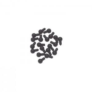 Pins Black 20 pcs.