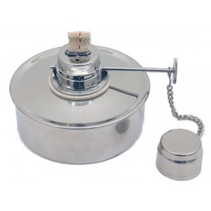 Spirit burner 18/10 stainless steel